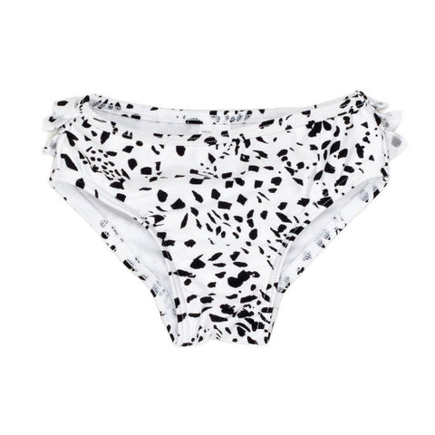 Spotted Black Baby Swim Bottoms