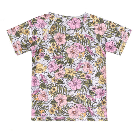 Forever Flower Short Sleeve Rash Vest