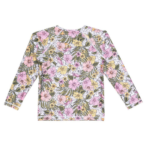 Forever Flower Long Sleeve Rash Vest