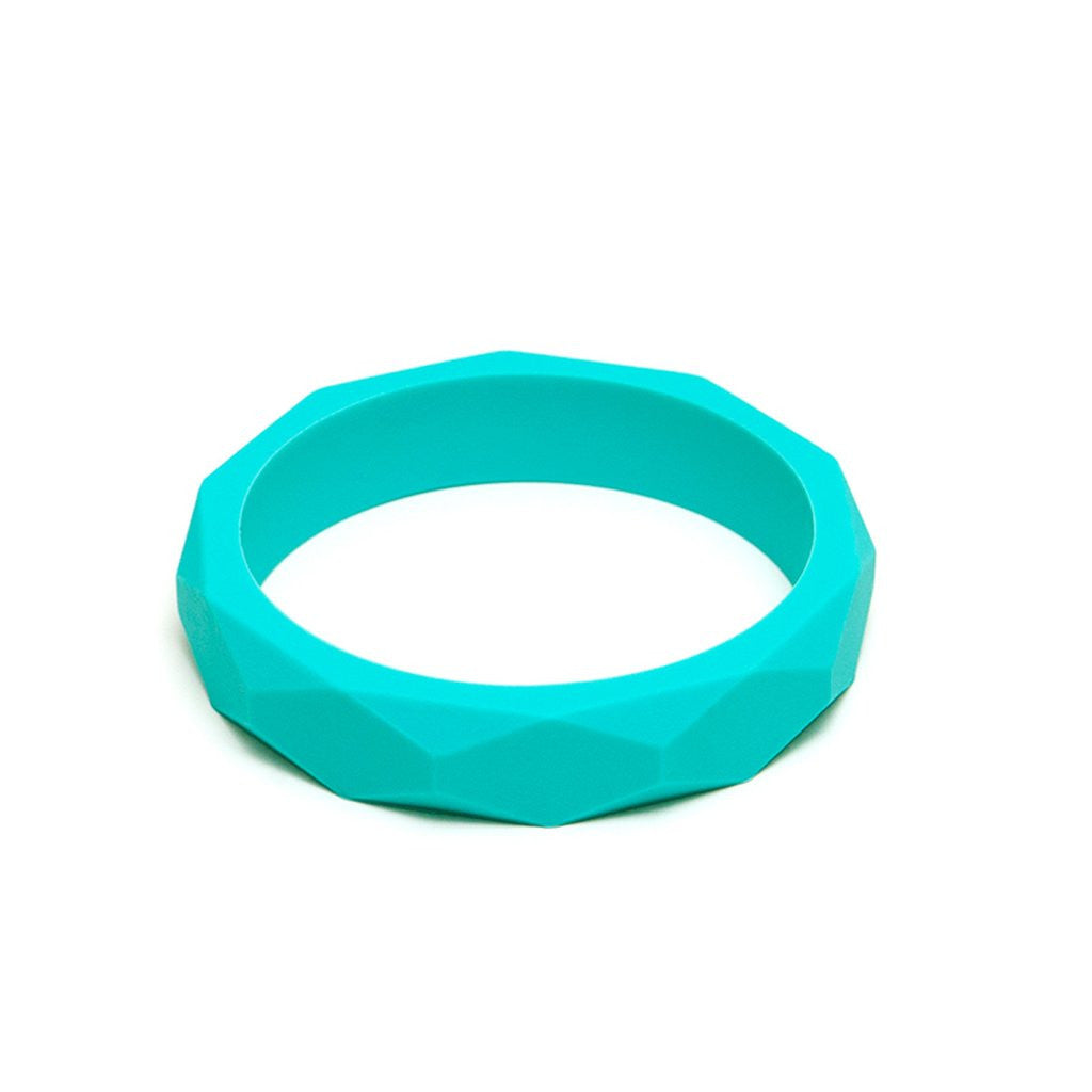 Teething Bracelet in Turquoise