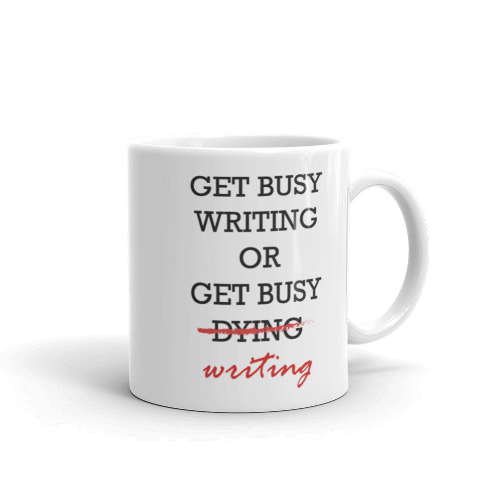 Get busy writing