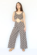 Polka Dot Cut Out Jumper