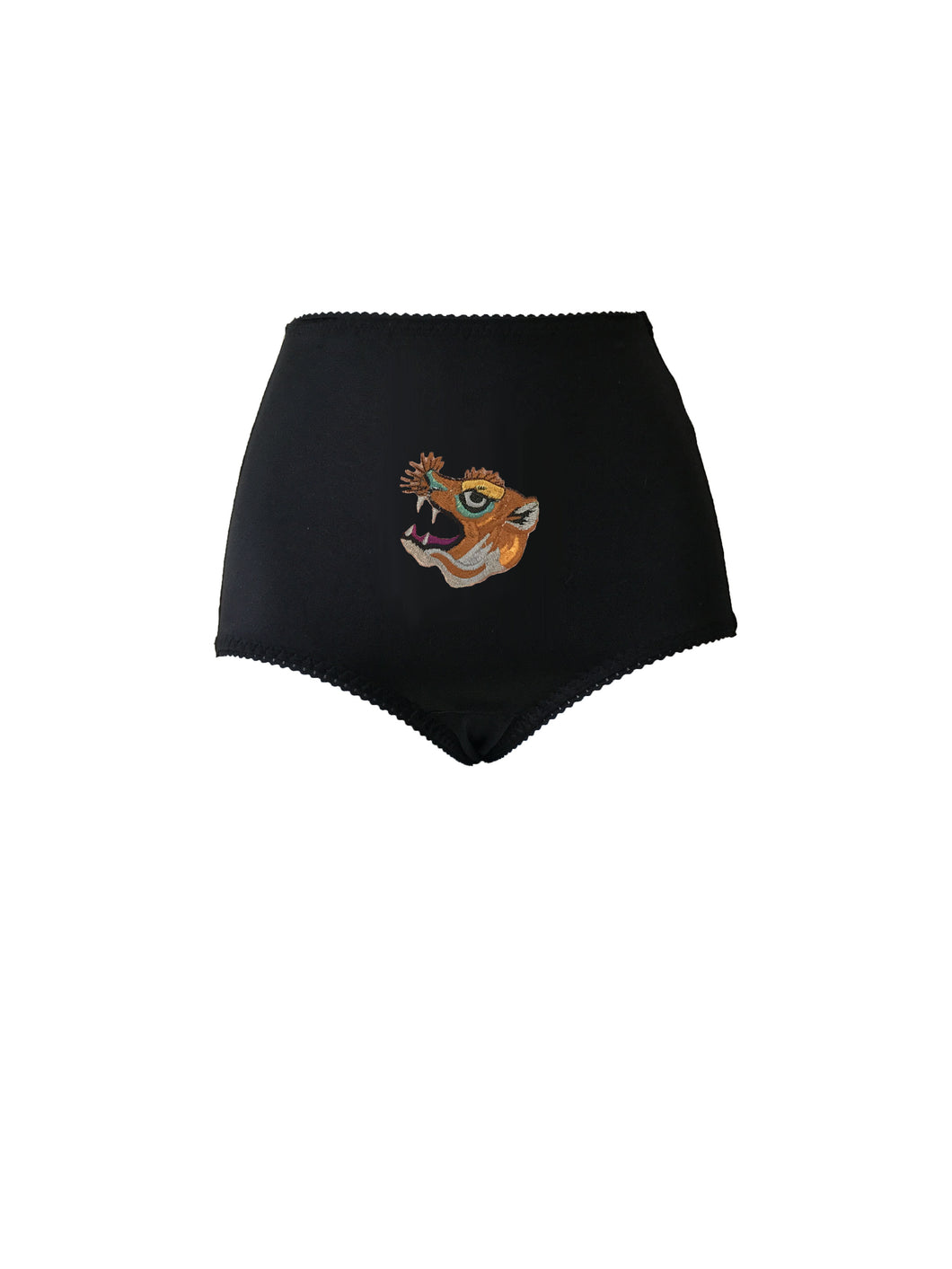 Wildcat Embroidered Panty