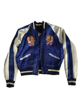Reversible Silk & Velvet 1940s Korean Souvenir Jacket