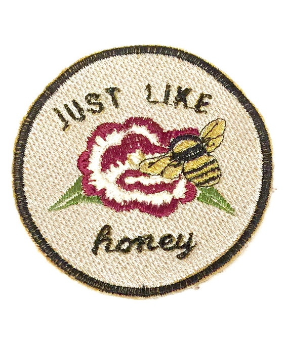 Just Like Honey Handmade Patch