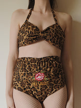 Leopard Cotton Embroidered Set