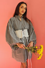 Lila Gingham Cotton Dress