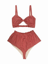 Gingham Cotton Set