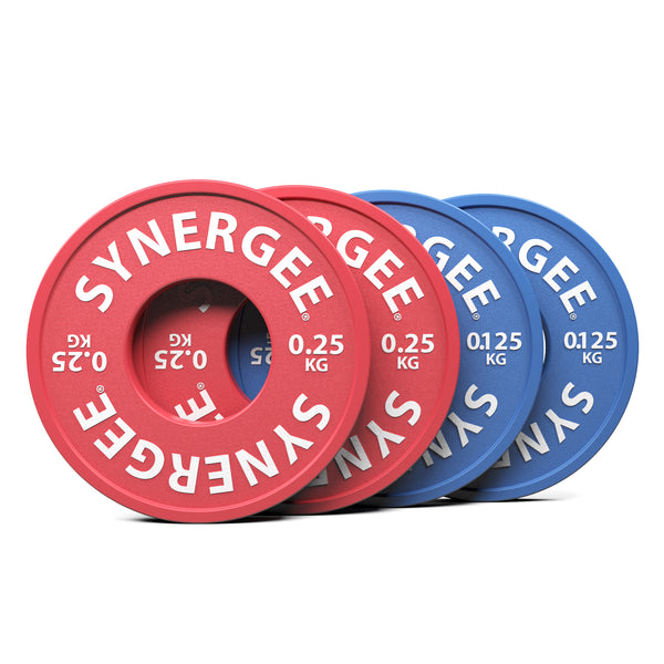 Synergee Rubberized Fractional & Change Plates