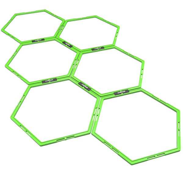 Synergee Hexagonal Speed & Agility Rings