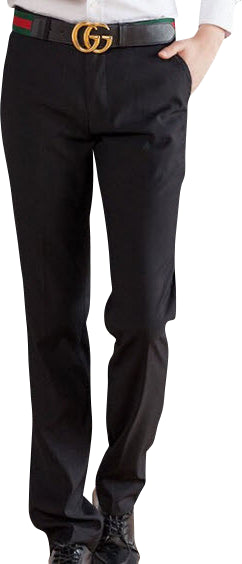 New Suit Time -Travon Series - Men's Dress Pants - Black