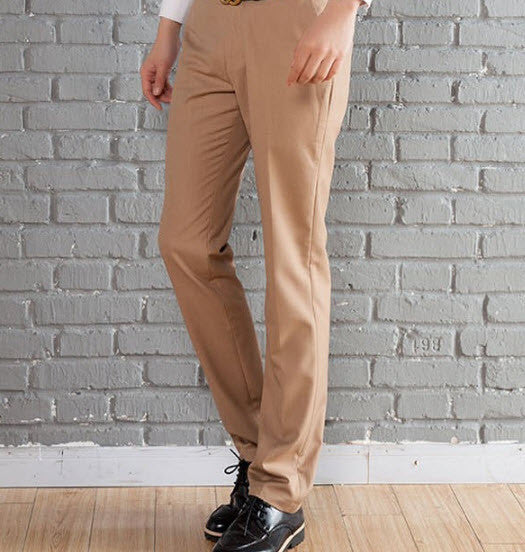 New Suit Time -Travon Series - Men's Dress Pants - Khaki