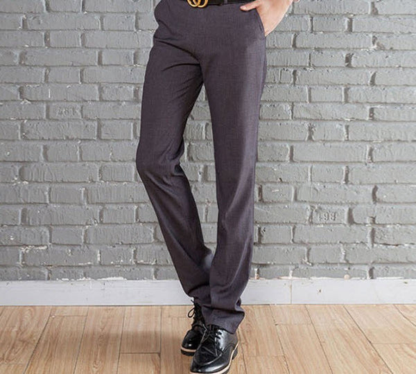 New Suit Time -Travon Series - Men's Dress Pants - Dark Grey