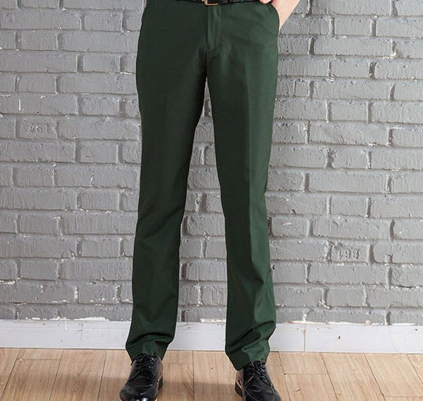 New Suit Time -Travon Series - Men's Dress Pants - Green