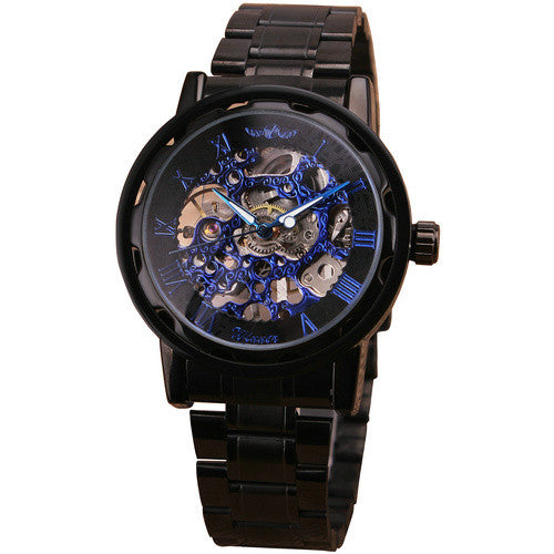 New Suit Time -Savas Series - Men's Watch - Black/ Blue