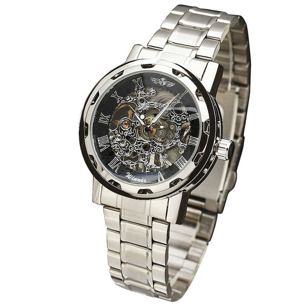 New Suit Time -Savas Series - Men's Watch Silver/Black