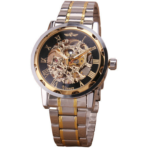 New Suit Time -Savas Series - Men's Watch Gold/Black