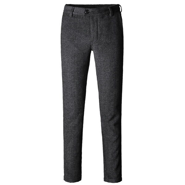 New Suit Time -Xavier Series - Men's Dress Pants - Dark Grey