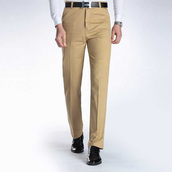 New Suit Time -Joaquin Series- Men's Dress Pants - Khaki
