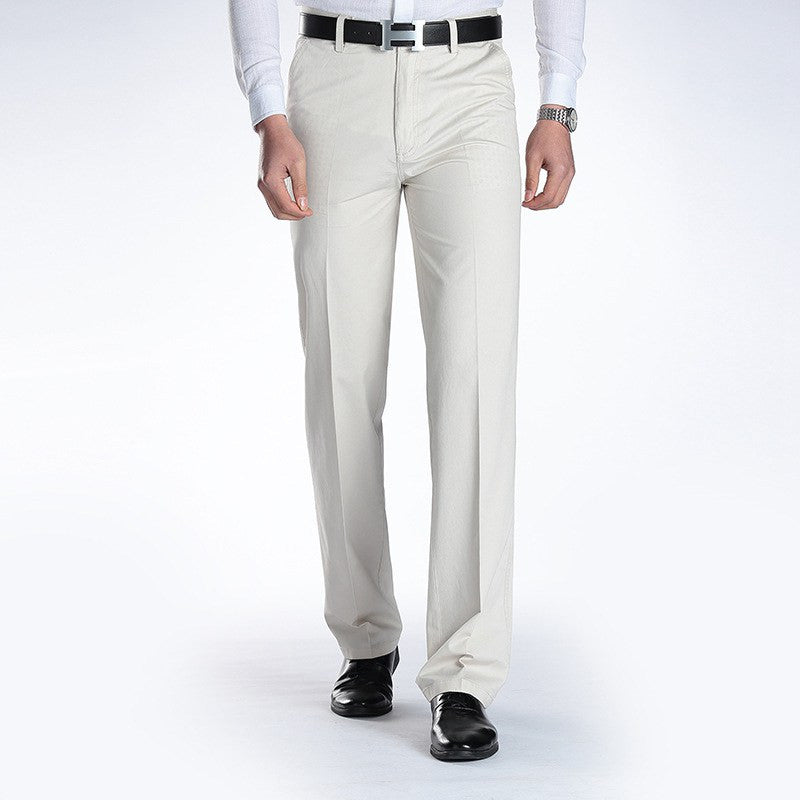 New Suit Time -Joaquin Series- Men's Dress Pants - White