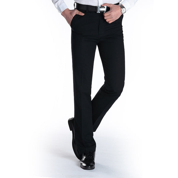 New Suit Time -Joaquin Series- Men's Dress Pants - Black
