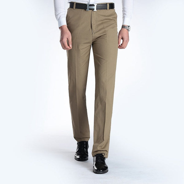 New Suit Time -Joaquin Series- Men's Dress Pants - Tan