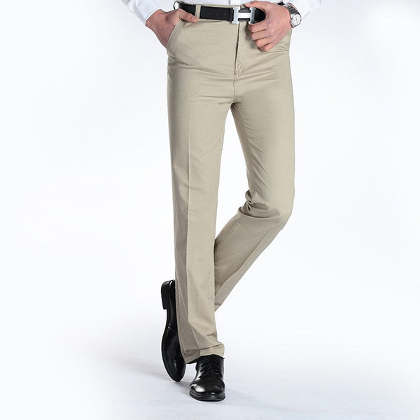 New Suit Time -Joaquin Series- Men's Dress Pants - Beige