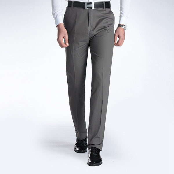 New Suit Time -Joaquin Series- Men's Dress Pants -Dark Grey