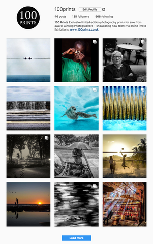 100 Prints on Instagram