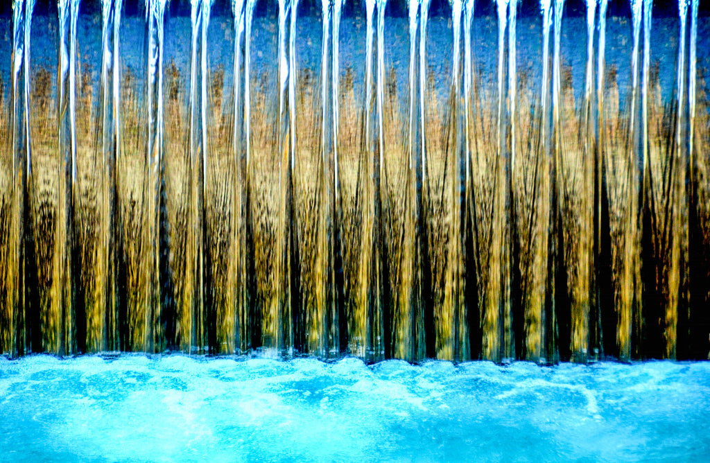 Annecy Waterfall by Croz' at 100Prints.co.uk