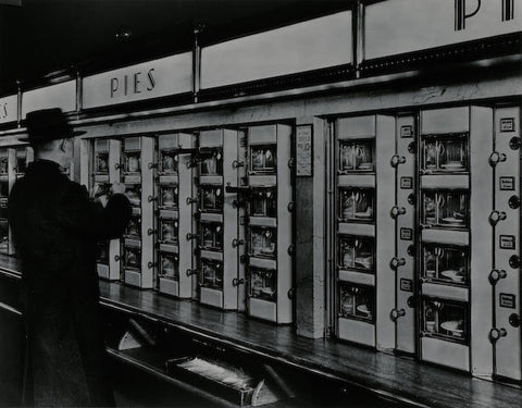 Automat, NYC by Berenice Abbott