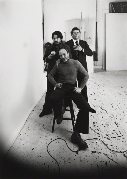 The Black Trinity: Duffy, Donovan & Bailey captured by Arnold Newman