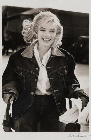 Marilyn Monroe, The Misfits by Eva Arnold