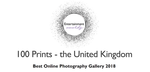 100 Prints wins Best Online Photography Gallery 2018
