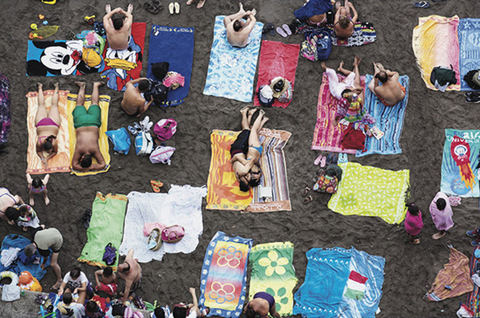 Martin Parr - Beach Therapy at Rocket Gallery, London
