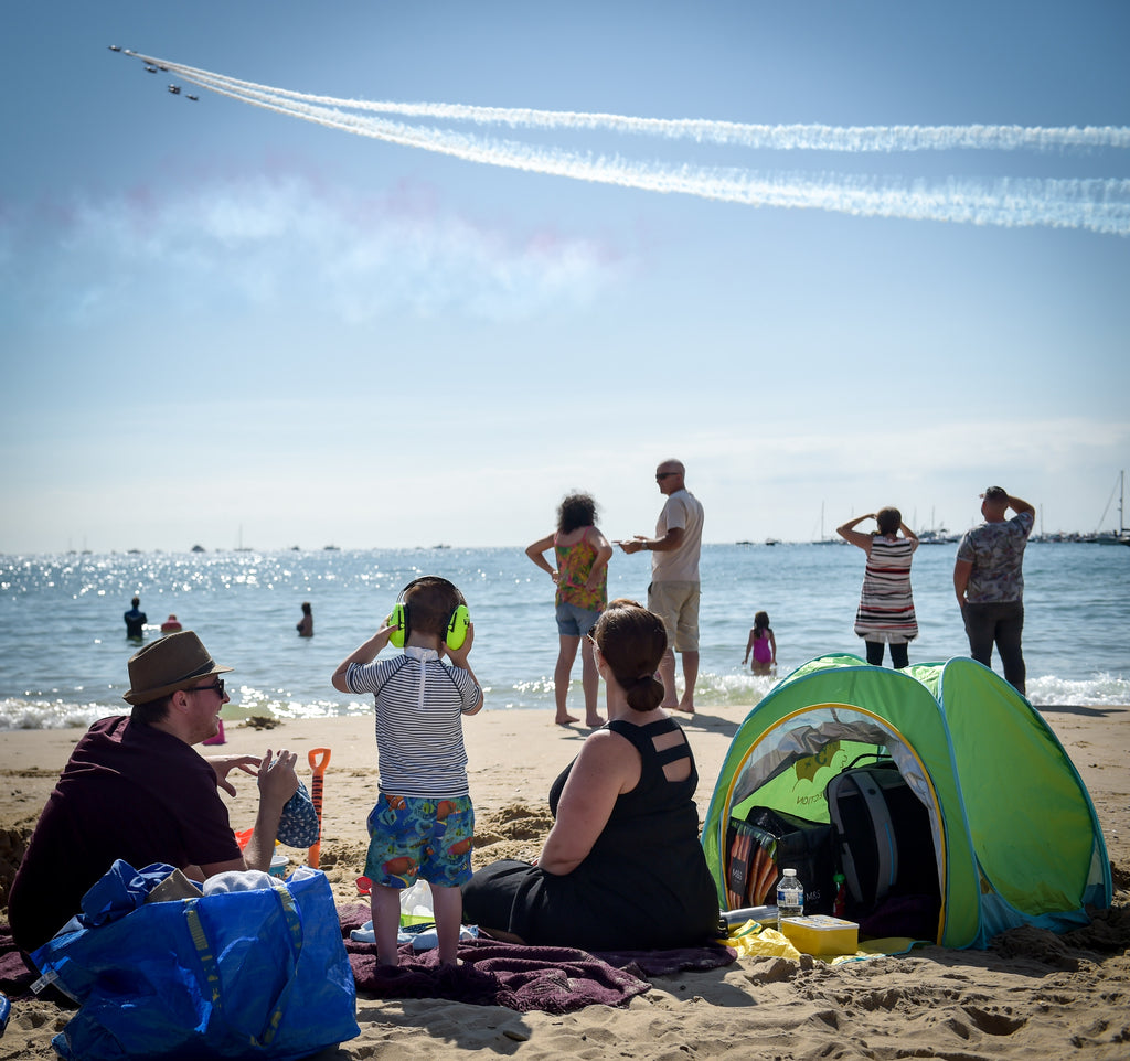 The Red Arrows at the Bournemouth Air Show