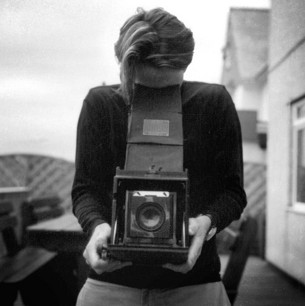 Joshua Paul Self Portrait with 1913 Graflex Camera
