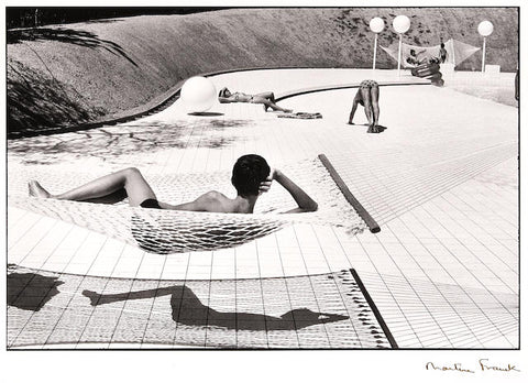 Swimming Pool by Martine Franck
