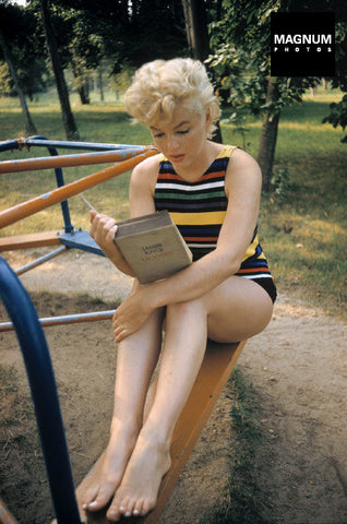 Photo: Eve Arnold. Marilyn Monroe, USA 1955.