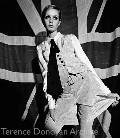 Photo: Twiggy by Terence Donovan