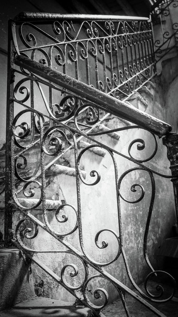 Havana Staircase by Justine Wyness