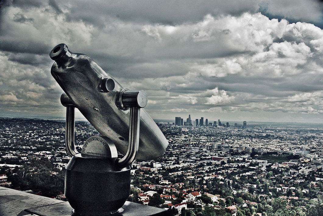 The Spy Viewing Machine, Los Angeles by Barbara Parkins