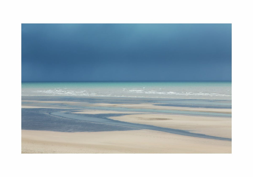 Camber Sands in Winter by Caroline Fraser