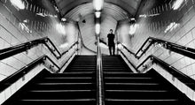 Down In The Tube Station At Midnight by Mel Chennell