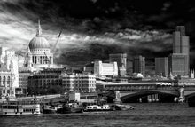 St Paul's and Blackfriars Bridge by Mel Chennell