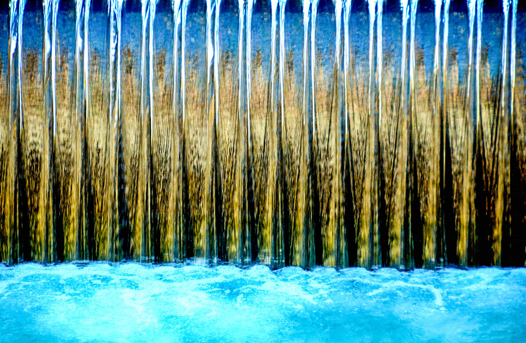Abstract photography: Annercy Waterfall by Croz' at 100Prints.co.uk