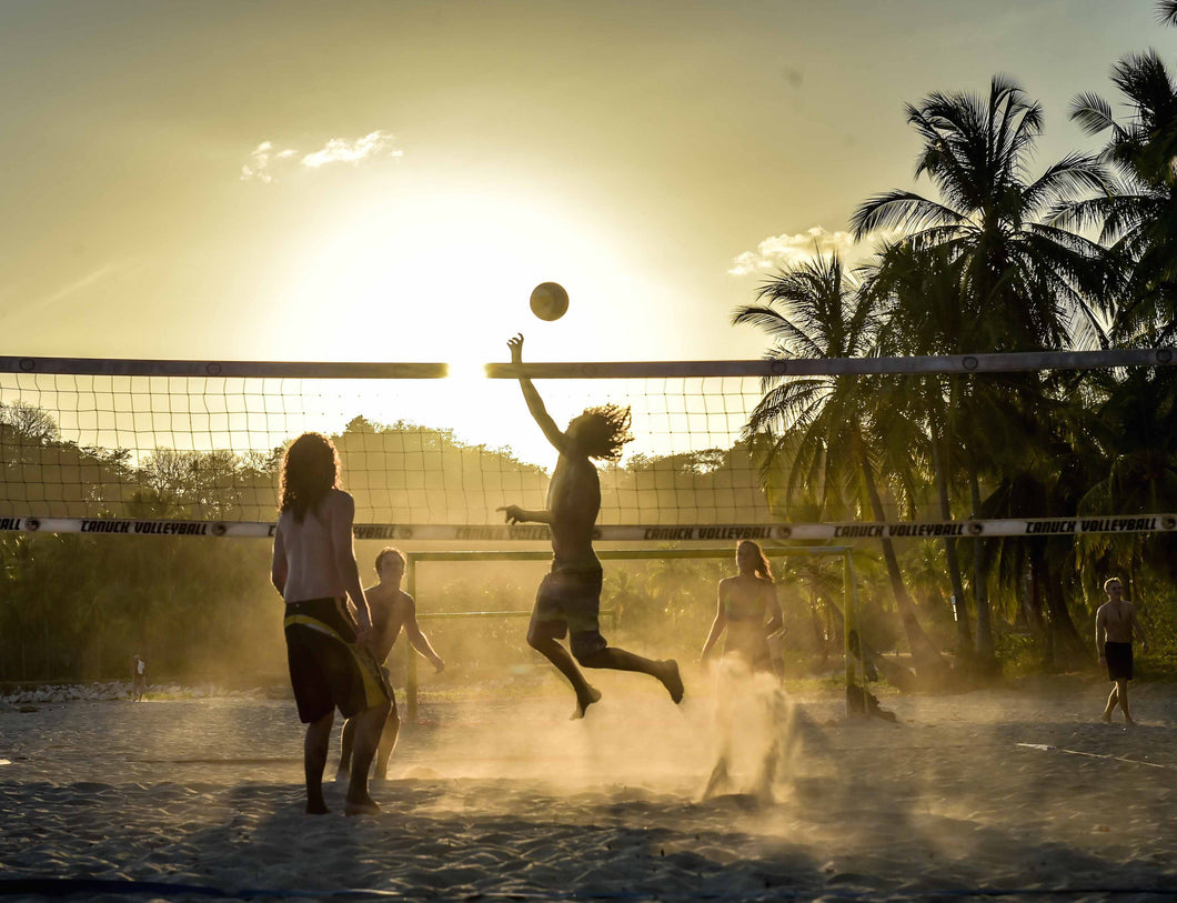 Photograph: Beach Volleyball, Print.