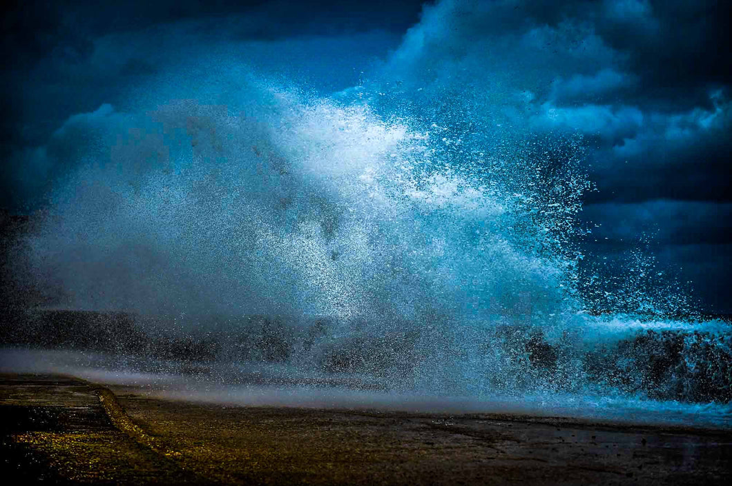 Photograph: Crashing Waves, Print.