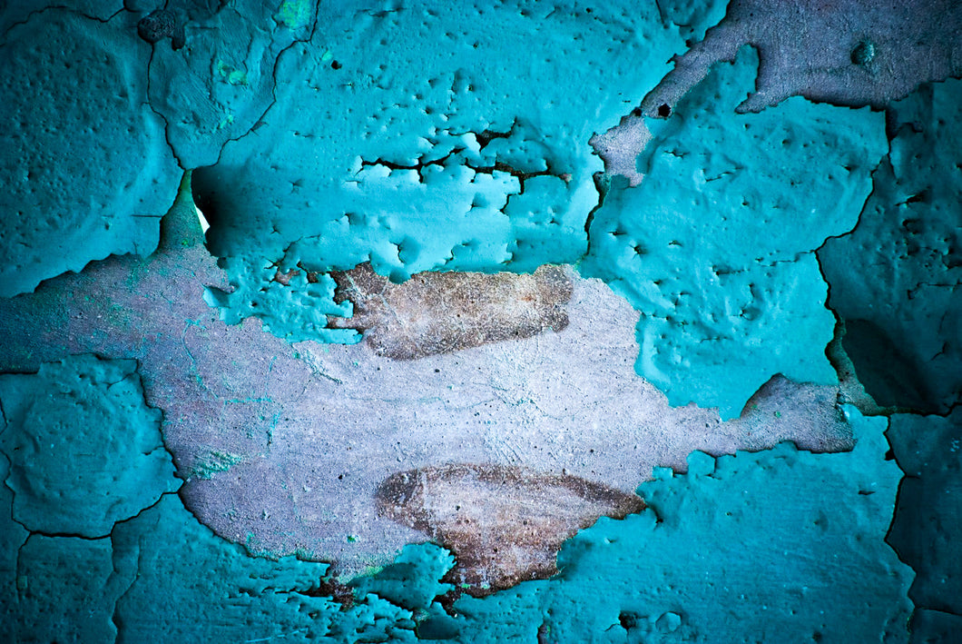 Abstract photography: Fading Facade Las Penitas by Croz' at 100Prints.co.uk