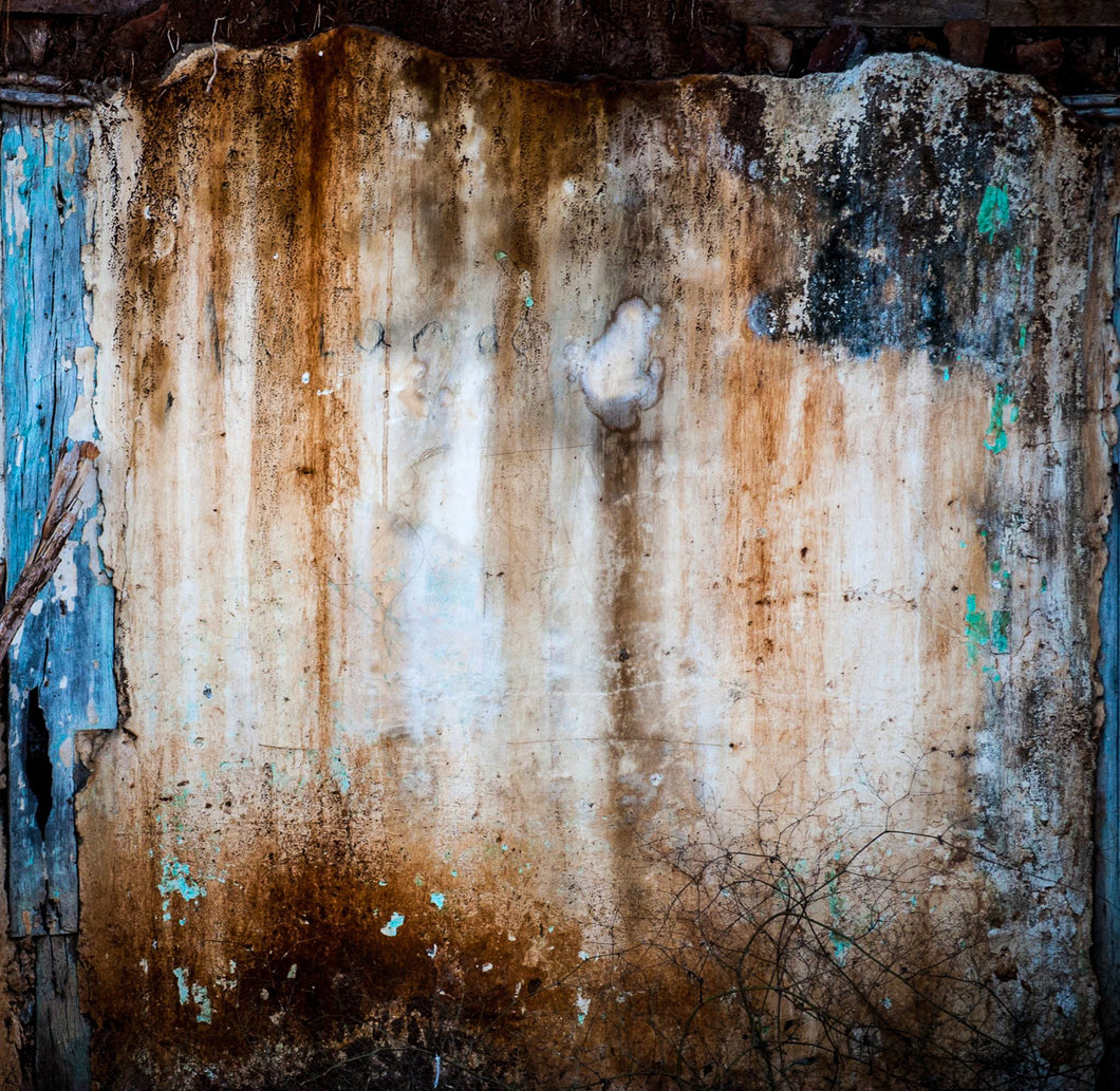 Abstract photography: Fading Facade Granada by Croz' at 100Prints.co.uk